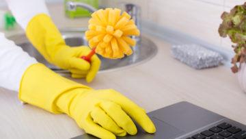 Reinigungs-Tipps für Notebooks – Wie ihr Tastatur und Co. wieder richtig sauber bekommt